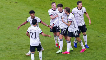 Germany ran out 4-2 winners in a stunning match