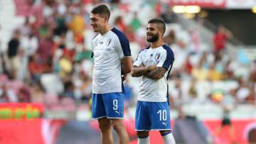 Belotti e Insigne, due obiettivi dell'Inter a parametro zero