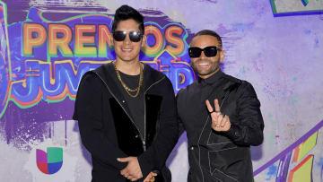 Chino y Nacho se presentaron en Premios Juventud 2021