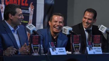 Mauricio Sulaiman, Javier Cubedo, Julio Cesar Chavez Sr.