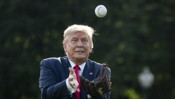 President Trump Marks Major League Baseball's Opening Day 2020