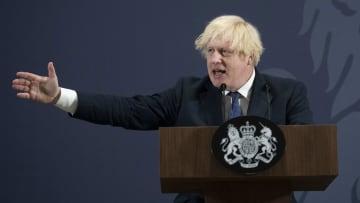 Il Primo Ministro britannico Boris Johnson