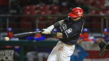 Sebastián Elizalde es uno de los bateadores de la escuadra mexicana