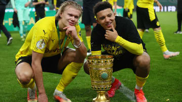 Erling Haaland slapped his teammate Mahmoud Dahoud for prematurely touching the DFB-Pokal trophy