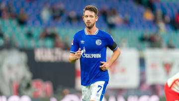 Schalke striker Mark Uth is reportedly 'responsive and stable' after a collision during Bundesliga match with Augsburg