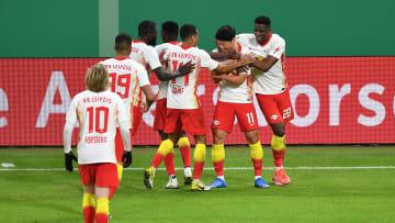 Leipzig zieht ins DFB-Pokal-Halbfinale ein