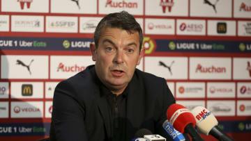 Arnaud Pouille en conférence de presse