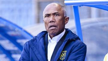Antoine Kombouaré avec le FC Nantes la saison passée