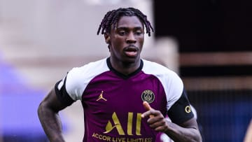 Moise Kean has been in fine form since securing a loan move to PSG
