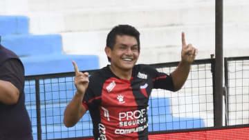 Racing Club v Colon - Copa de la Liga Profesional 2021 - Luis Rodriguez, el mejor jugador del certamen.