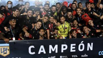 Racing Club v Colon - Copa de la Liga Profesional 2021: Final - Colón se consagró campeón.
