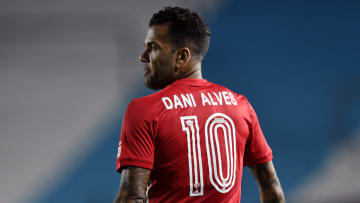Dani Alves is vying for Olympic gold
