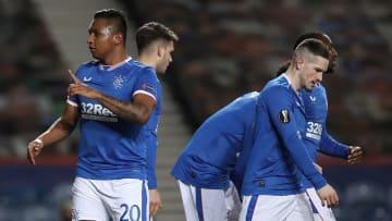 Alfredo Morelos puts Rangers ahead on the night