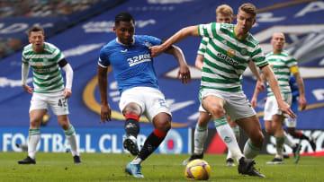 Celtic et Rangers lors de leur dernière confrontation.