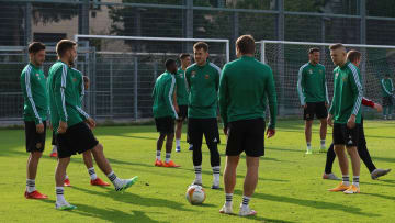 Rapid Wien - Press Conference And Training Session