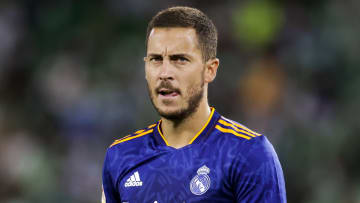 Eden Hazard has endured an injury nightmare at Real Madrid