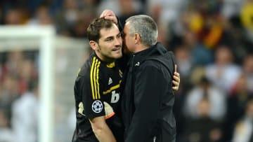 Iker Casillas, Jose Mourinho