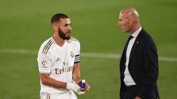 Karim Benzema est un indéboulonnable du onze type de Zinédine Zidane cette saison. Son absence pourrait s'annoncer préjudiciable