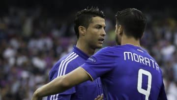 Cristiano Ronaldo, Alvaro Morata