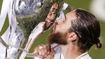 Sergio Ramos campeón de Liga con el Madrid