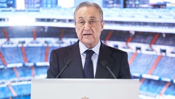 Real Madrid president Florentino Perez was one of the leading men behind the creation of the ESL