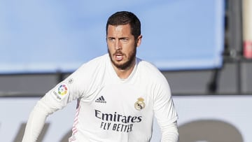 Eden Hazard has not been named in Real Madrid's squad for the clash with Barcelona