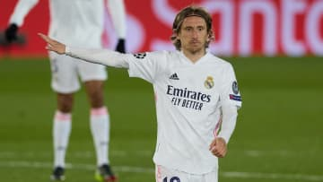 Luka Modric was the star of the show in Real Madrid's win against Atalanta