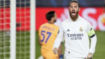 Sergio Ramos, capitaine et leader du Real Madrid.