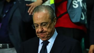 Florentino Perez had been set to be chairman of the Super League