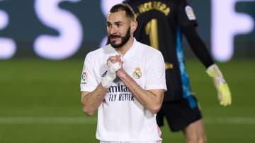 Karim Benzema et ses coéquipiers sont à la lutte pour le titre de la Liga.