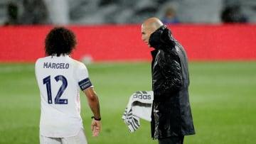 Zidane y Marcelo