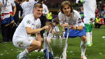 Toni Kroos y Luka Modric, Real Madrid