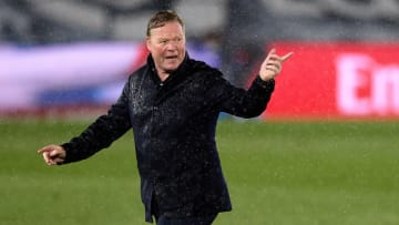 Koeman was less than pleased with the officials in Barcelona's defeat