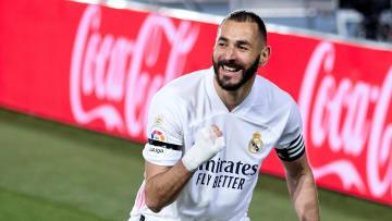 Karim benzema puso el 1-0 para el Real Madrid