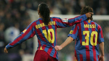 Lionel Messi and Ronaldinho are considered as among the greatest players to play football