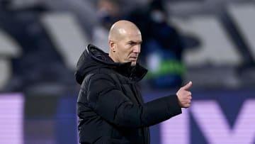Zinedine Zidane head Coach