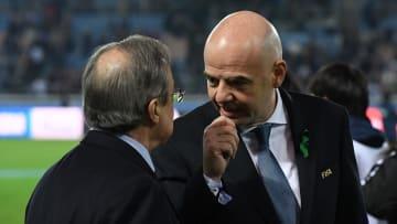 Gianni Infantino, Florentino Perez