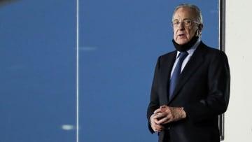 Florentino Pérez insiste en salvar el fútbol