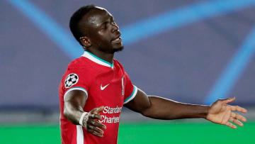 It was another tough evening for Mane against Real Madrid