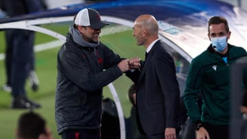 Jurgen Klopp and Zinedine Zidane are two of the best around