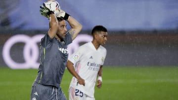 Bravo contra Real Madrid