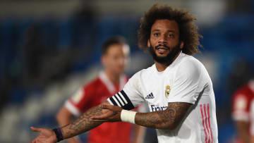 Marcelo vai continuar no Real Madrid na próxima temporada, a última de seu contrato com o clube branco.