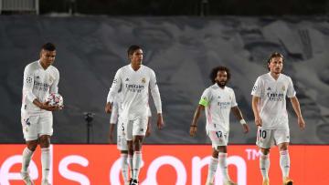 Marcelo, Raphael Varane, Luka Modric, Carlos Casimiro