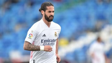 Isco is in the final year of his Real Madrid contract