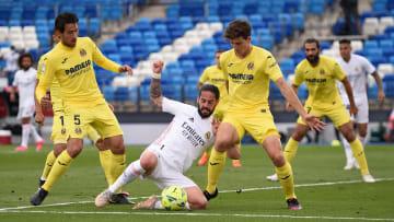 Equipes jogam no Santiago Bernabéu   Real Madrid v Villarreal CF - La Liga Santander