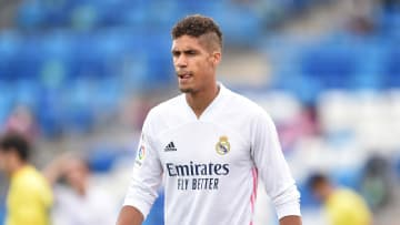 Raphael Varane has returned to Real Madrid