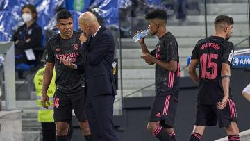 Zinedine Zidane head Coach, Casemiro