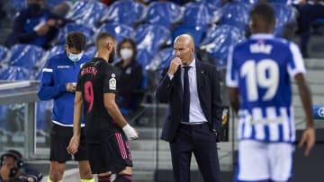 Karim Benzema, Zinedine Zidane head Coach