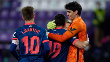 Bounou a sauvé le point du match nul face à Valladolid.