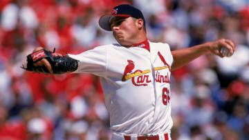 Former St. Louis Cardinals left-hander Rick Ankiel